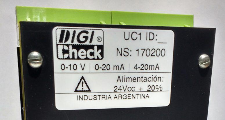 Transmisor de señal UC1 con salida 0-10V 4-20mA