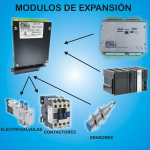 Unidad de expansión de entrada/salida digital