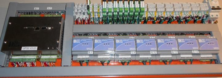 Sistema de control para balanza dosificadora Multicabezal con actuadores neumáticos